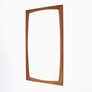 Danish Teak Mirror by Kai Kristiansen for Aksel Kjersgaard, 1960s