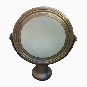 Vintage Round Mirror by Sergio Mazza for Artemide, 1976