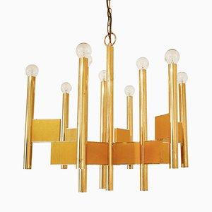 Italian Pendant Lamp by Gaetano Sciolari, 1970s