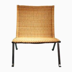 Chaise PK22 Vintage par Poul Kjaerholm pour E. Kold Christensen