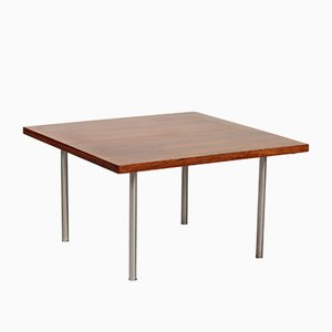 Vintage Coffee Table in Rosewood Veneer by Hans J. Wegner for Andreas Tuck