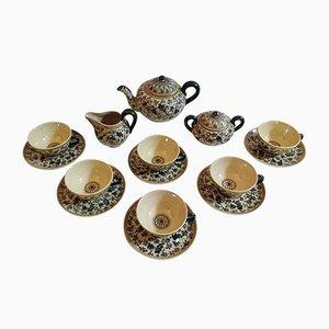 Juego de té italiano de Molaroni Pesaro, años 30