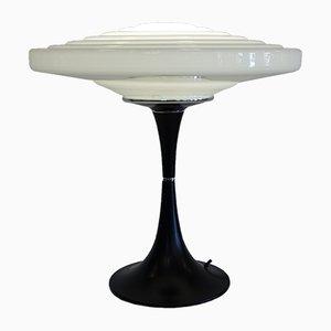 Lampe de Bureau UFO en Verre Opalin de Gaivota, 1970s