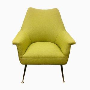 Italian Chair with Metal Legs, 1960s