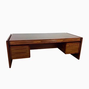 Mid-Century Rosewood Executive Desk by Svend Dyrlund