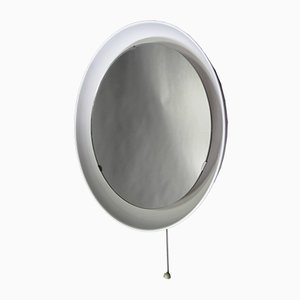 Mid-Century Mirror & Wall Light