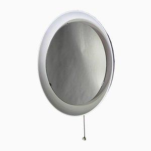 Mid-Century Spiegel & Wandlampe