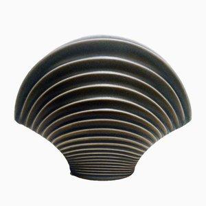 Jarrón en forma de concha de porcelanade Rosenthal, años 70