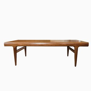 Table Basse Mid-Century à Rallonge par Johannes Andersen pour Silkeborg Møbelfabrik