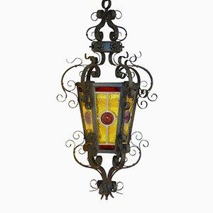 Linterna neogótica, década de 1900