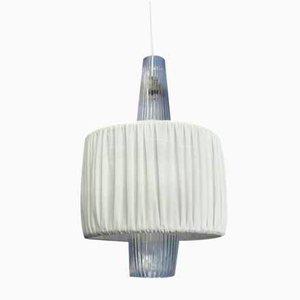 Lámpara colgante Venezia de vidrio de Aloys Ferdinand Gangkofner para Peill & Putzler, años 50