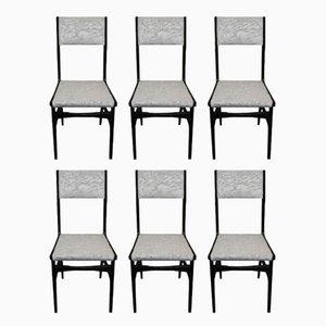 Mid-Century Stühle von Carlo de Carli, 6er Set
