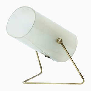 Mid-Century Finnish Brass & Acrylic Table Lamp from Korumo