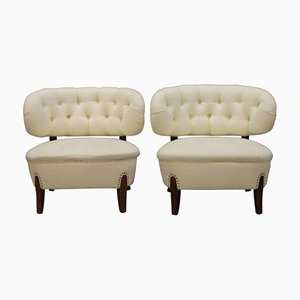 Vintage Lounge Chairs by Otto Schulz, Set of 2