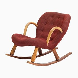 Chaise Clam par Philip Arctander pour Nordisk Staal & Møbel Central, 1944