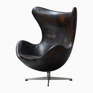 Silla Egg de Arne Jacobsen para Fritz Hansen, años 60