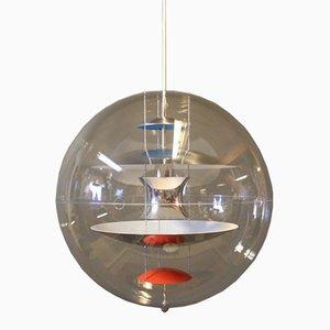 Lampada a sospensione Globe di Verner Panton per VerPan, anni '80