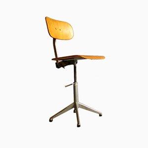 Sedia da ufficio vintage industriale regolabile