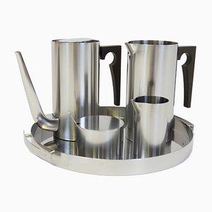 Set da caffè Cylinda Line di Arne Jacobsen per Stelton, 1967