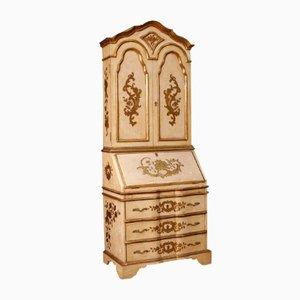 Mueble español dorado y lacado, años 60