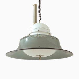 Lámpara colgante KD14 de Sergio Asti para Kartell, 1963