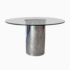Tavolino da caffè rotondo, anni '70