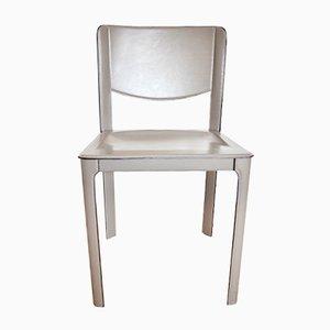 Sedie in pelle di Tito Agnoli per Matteo Grassi, anni '80, set di 4