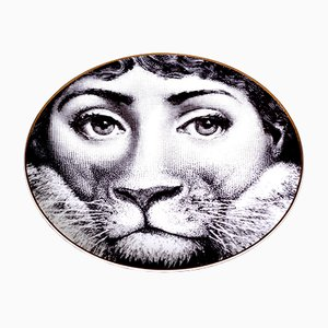 Vintage Plate by Piero Fornasetti for Rosenthal, 1980s