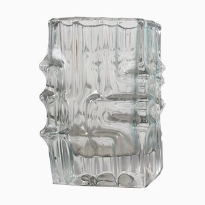 Transparent Glass Vase by Vladislav Urban