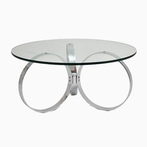 Mid-Century Modern Chromed Coffee Table, 1960s