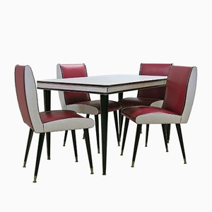 Mid-Century Dining Set by Umberto Mascagni, 1950s
