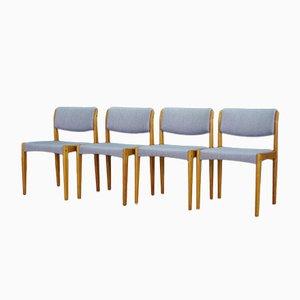 Vintage Stühle aus Esche von H. W. Klein für Bramin, 4er Set