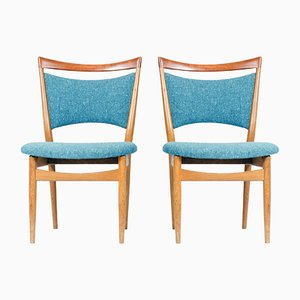 SW87 Chairs by Finn Juhl for Søren Wiladsen, 1952, Set of 2