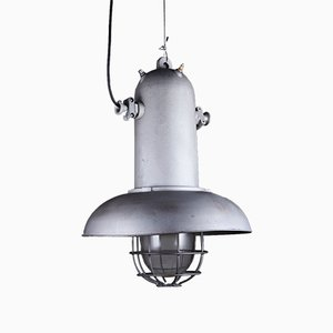 Grande Suspension Industrielle Vintage