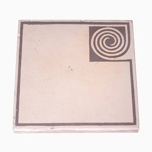 Antique Tile by Peter Behrens for Villeroy & Boch