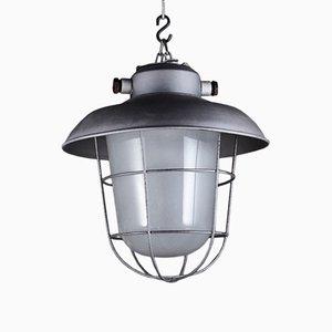 Lámpara colgante industrial Mid-Century
