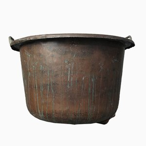 Vintage Large Copper Planter