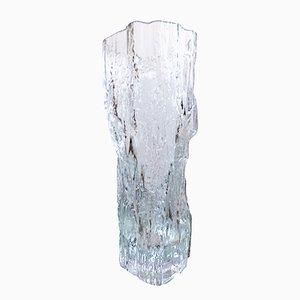 Vaso in vetro smerigliato di Tapio Wirkkala per Iittala, anni '70