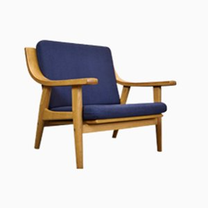 Danish GE-530 Lounge Chair by Hans J. Wegner for Getama, 1970s