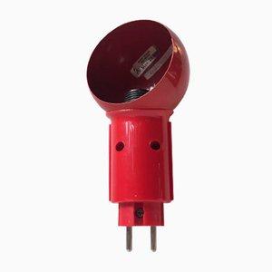 Dänische Roboter Stecker Wandlampe von Bendt Hansen für DL Lampen, 1970er