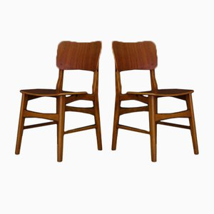 Vintage Danish Teak Chairs, Set of 2