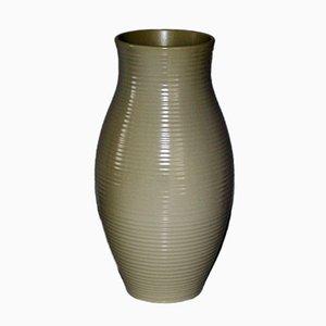 Jarrón de pie vintage grande de cerámica de Gmundne Keramik