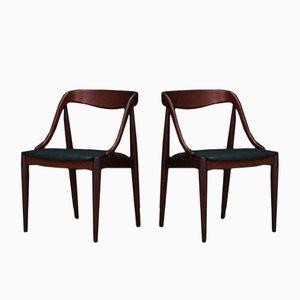 Dänischer Vintage Teak Stuhl von Johannes Andersen für Uldum Møbelfabrik
