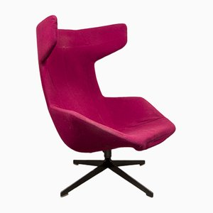 Wingback Swivel Lounge Chair by Alfredo Haberli for Moroso, 2002