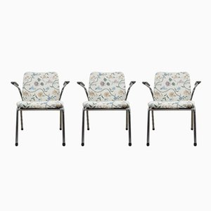 Dutch Chairs from Gispen, 1960s, Set of 3