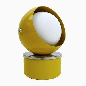 Lampe de Bureau Ajustable Jaune par Hustadt-leuchten, 1960s