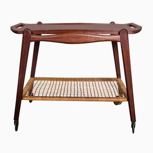 Teak Trolley by Johannes Andersen for Silkeborg, 1960s