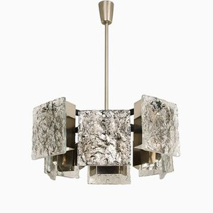 Murano Glass Pendant Light from Kalmar, 1960s