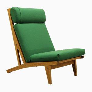 Dänischer GE375 Sessel aus Eiche von Hans J. Wegner für Getama, 1960er