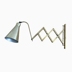 Lámpara de acordeón, años 60